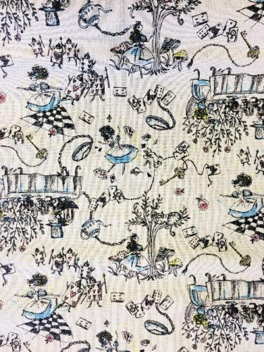 Tela patchwork-Nutex Alicia en el país de las maravillas 68250