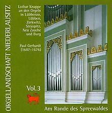 Orgelland Niederlausitz Vol.3 von Lothar Knappe | CD | Zustand sehr gut