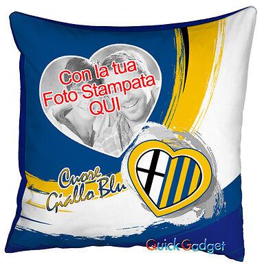 Fotocuscino Cuscino Parma Calcio Personalizzato Con La Tua Foto Ulteriori Sorprese
