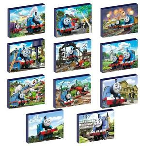 FREE POSTAGE THOMAS THE TANK ENGINE CANVAS WALL ART PLAQUES//PICTURES SET