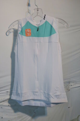 Louis Garneau Women/'s Beeze 2 Sleeveless Cycling Jersey Large White//Mojito