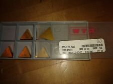 Rtw Carbide Lathe Tooling Inserts Tin Coated Tpg 432e Grade 716 Box Of 6