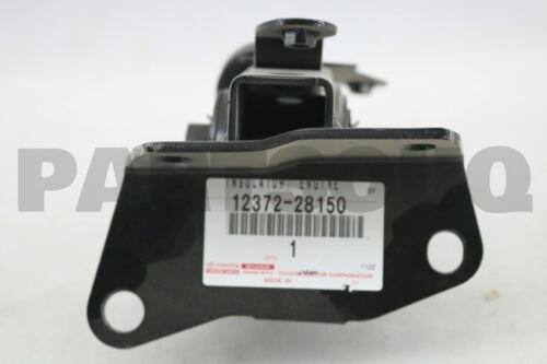 ENGINE MOUNTING LH 1237228150 Genuine Toyota INSULATOR FOR TRANSVERSE ENGINE