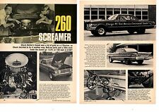 1962 MERCURY COMET 260 D/MP / CHERNER FORD  ~  ORIGINAL 2-PAGE ARTICLE / AD