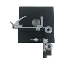 Vintage Unitron Stg Hardware Mounting Plate Microscope Part