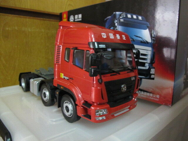 Sinotruk hohan 6x2 sattelauflieger traktor 1   24 - modell