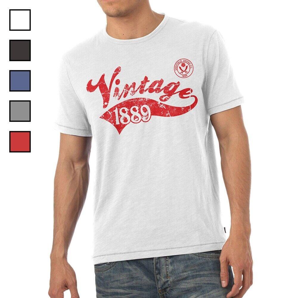 Sheffield United F.C - Personalised Mens T-Shirt (VINTAGE)