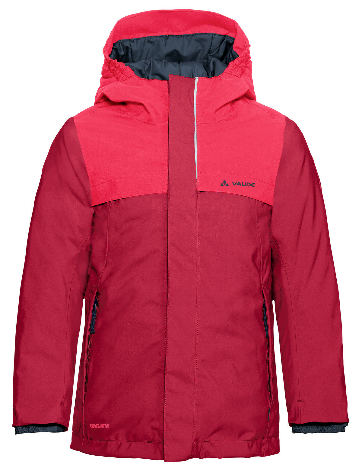 Vaude niños invierno chaqueta Kids igmu Jacket Girls Bright rosado 146 152