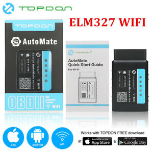 Details about AutoMate ELM327 WIFI OBD2 Auto Diagnostic Interface Scanner  Tool For Android iOS