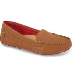 Ugg Milana II Moc Toe Flat Chestnut