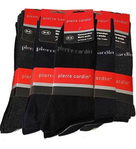 NEU-12-18-Paar-Pierre-Cardin-Socken-Herrensocken-Herren-Struempfe-Business-Socken