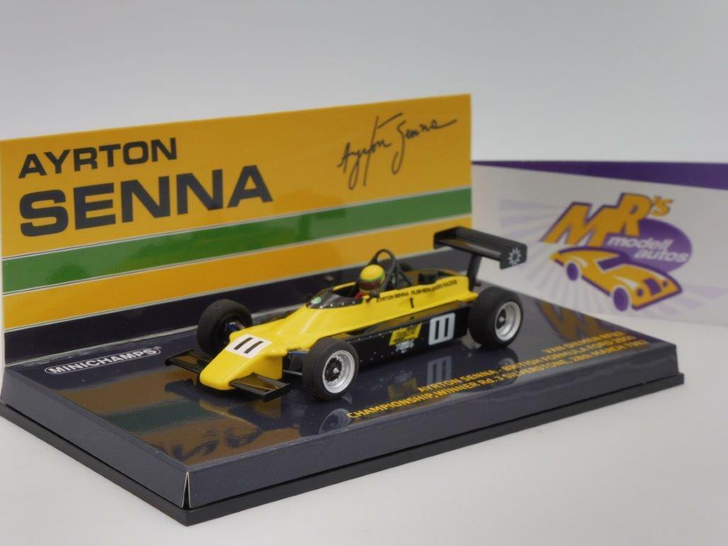 Minichamps 547824311    Van Diemen RF82 No. 11 Silverstone   Ayrton Senna   1 43