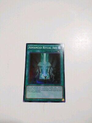 Super Rare M//NM Yugioh 3x Advanced Ritual Art THSF-EN052