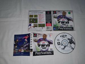 jeu playstation 1 ps1 sony occasion FIFA FOOTBALL 2002