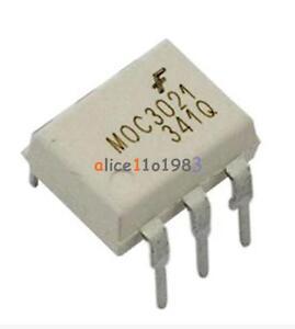 20Pcs-Fairchild-MOC3021-Random-Phase-Optoisolators-Triac-Driver-Output-DIP-6