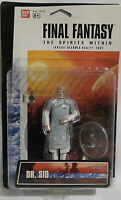 Final Fantasy The Spirits Within : Dr. Sid Carded Action Figure (mlfp)