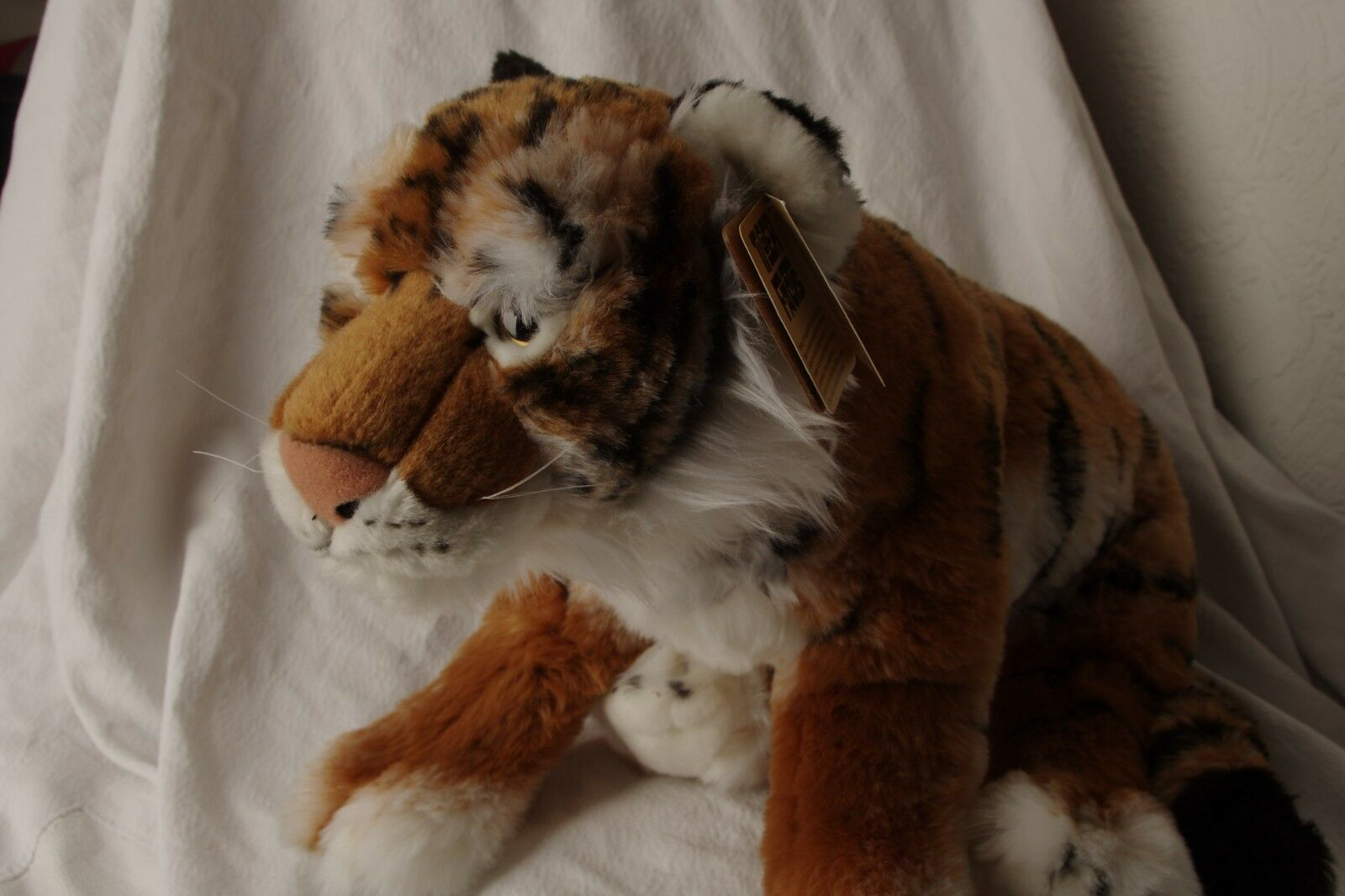 TIGER.....Plush Soft Toy Animal ..........Teddy....................Living Nature