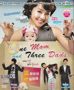 DVD Korean Drama One Mom and Three Dads (TV Series) Young-nam Jang