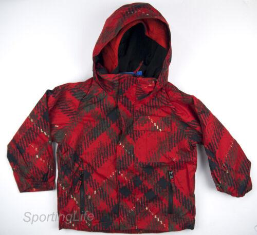 Columbia Boys $130 JAGGED PEAK Everyday Winter Jacket Red Youth sz 4-5 SH7304