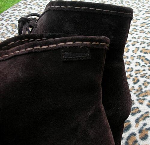 cordones Eu 42 tamaño botines cuero originales Unido Browns de Reino con 8 Clarks PwZCI7qx