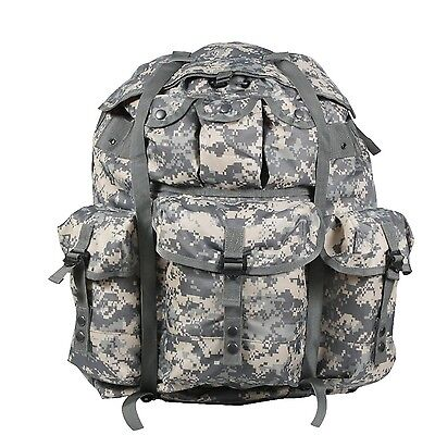 Radient Army At Digital Camo Us Ucp Acu Large Alice Pack With Alu Frame Rucksack