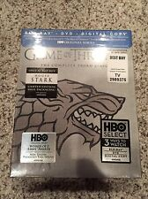 Game of Thrones: Season 3 Blu-ray House of Stark Sigil Limited Edition New OOP