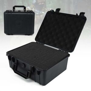 Case Waterproof Tool Box Bag Storage Toolbox Hard Plastic Portable Large Stock