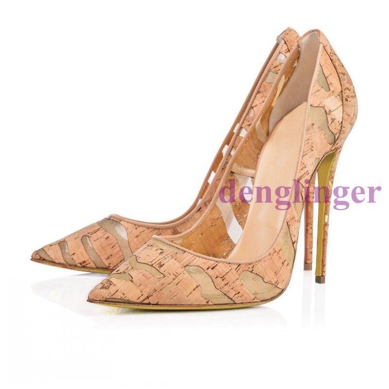 vendita online risparmia il 70% Spring Ladies Stilettos High Heels scarpe Party Party Party Pointed Wedding scarpe Pumps New  supporto al dettaglio all'ingrosso