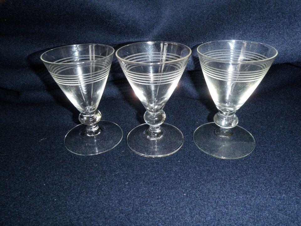 Glas, portvin, Brandholm Holmegård