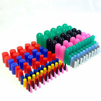 160pc High Temp Silicone Rubber Cap and Plug Kit Powder Coating Paint Assortment