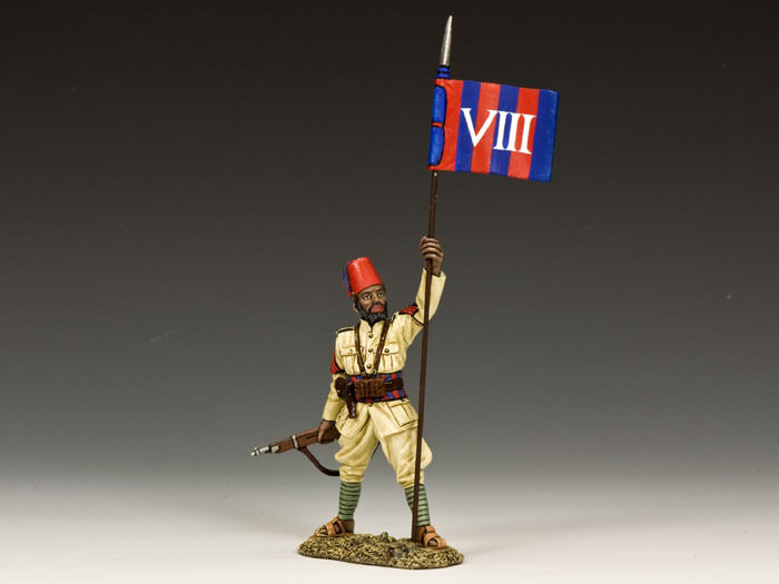 KING AND COUNTRY Eritrean Flagbearer Sergeant, Italian Forces IF31 IF031