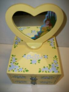 Disney Beauty the Beast Belle Jewelry Box eBay
