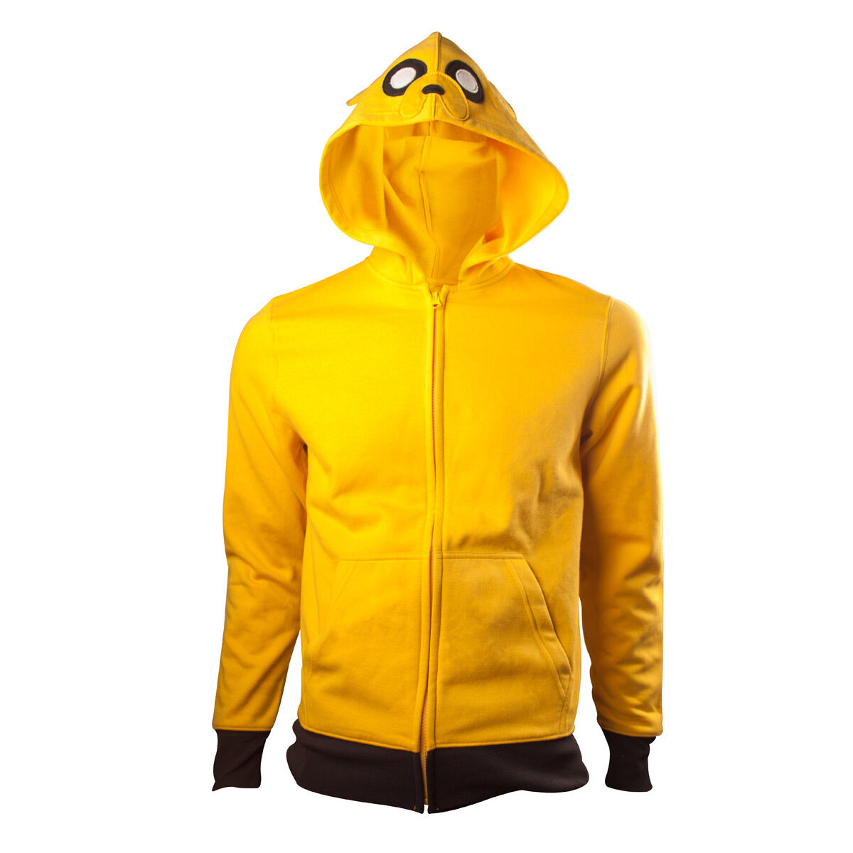 OFFICIAL Adventure Time Jake The Dog Cartoon Gelb Cosplay Hooded Hoodie Top