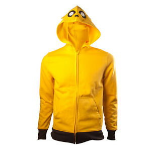 OFFICIAL-Adventure-Time-Jake-The-Dog-Cartoon-Yellow-Cosplay-Hooded-Hoodie-Top