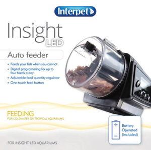 Interpet Auto Feeder Pour Insight Aquarium 40ltr & 60ltr 755349003860
