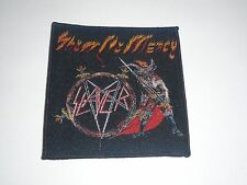 SLAYER SHOW NO MERCY WOVEN PATCH