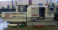 """#TL-15 HAAS 23"""" x 12.7""""cc CNC Lathe with Sub-Spindle (New 2001)"""
