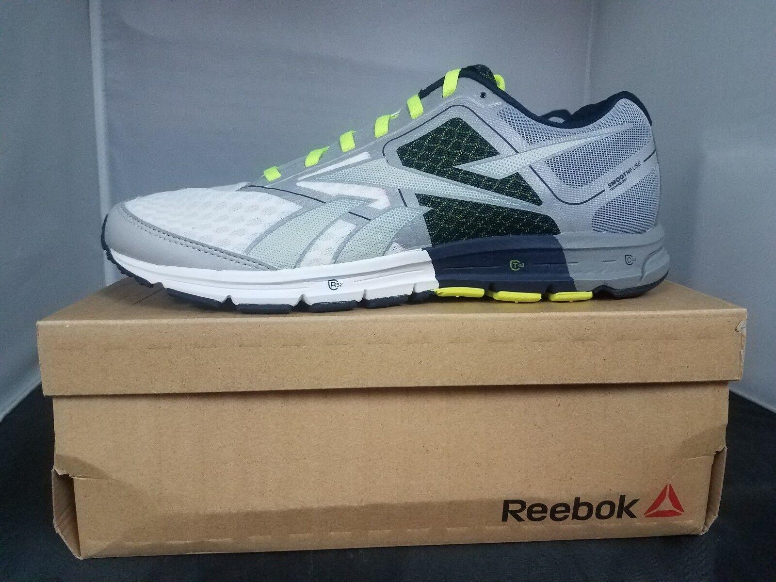 Reebok One amortiguador Running Zapatillas de Moda Acero Azul Marino gris amarillo negro Nuevo Para Hombres