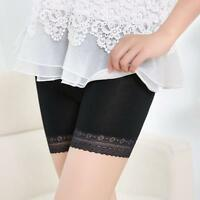 Women Lace Tiered Skirts Short Skirt Under Safety Pants Underwear Casual Shorts