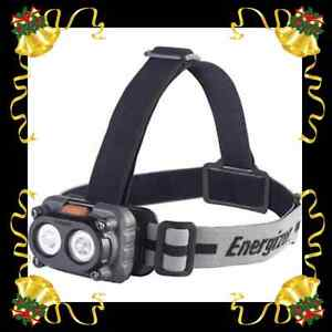 Energizer 250 Lumens 6-Mode LED PRO Headlight Torch with Batteries