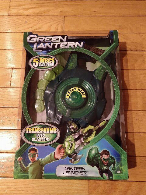 Vtg DC Comics Mattel Grün Lantern Corps Launcher Movie Blaster NIB Hal Jordan