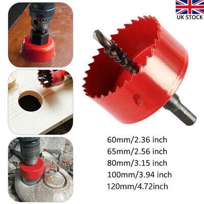 22-120mm Bi Metal M42 HSS Hole Saw Cutter Drill Bit For Aluminum Iron Pipe Wood