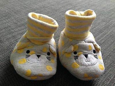 Bebé Niñas Mothercare Suave socktop Novedad Botines De Limón