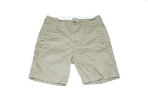 Buzz Rickson Military Chino Flat Front Shorts - Kh