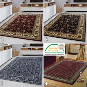Détails sur Oriental rugs Moderne Motif Floral Bordure Design Tapis Petit  Large Chambre À Coucher Tapis- afficher le titre d\'origine