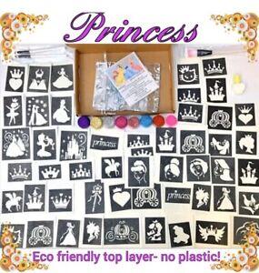 Kit-Para-Tatuar-Princesa-Brillo-158-Stencils-8-brillos-o-recarga-Stencils-Brillos