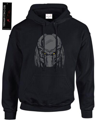 Predator Inspired T-Shirt Gym Hoodie