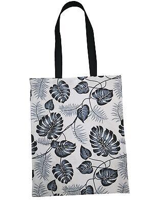 Sincero Fatto A Mano Eco Shopping Bag Grocery Riutilizzabile Design Fiori-mostra Il Titolo Originale