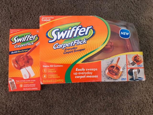 Swiffer Carpet Flick Carpet Sweeper Starter Kit For Sale