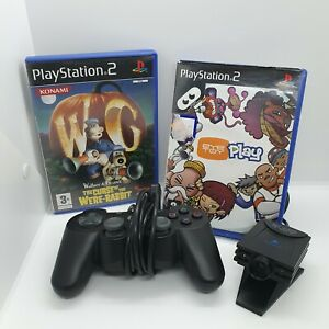 PlayStation-2-Eye-Toy-Camera-And-Games-Bundle-Tested-And-Working-ps2-controller